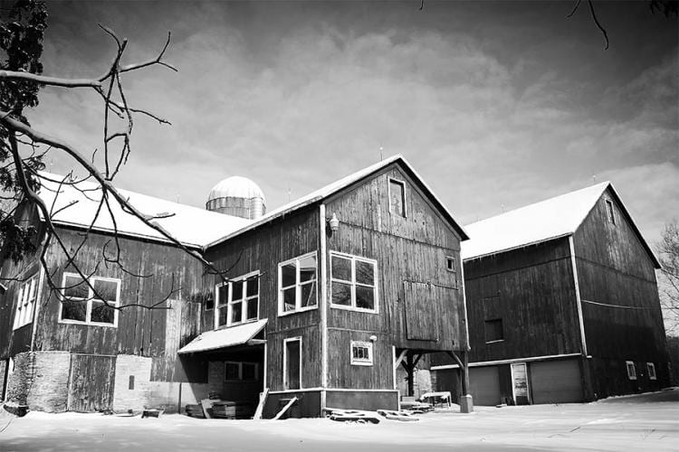 Original Landing 1841 Barn Pre-Renovation